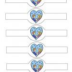 Printable Love Valentine's Day Napkin Holders