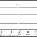 Blank Printable Video Scavenger Hunt List