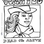 Printable Wild West Coloring Page 2