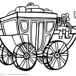 Printable Wild West Coloring Page 6