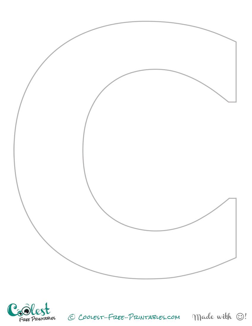 Letter Printable Stencils  MaggiLocustdesignCo