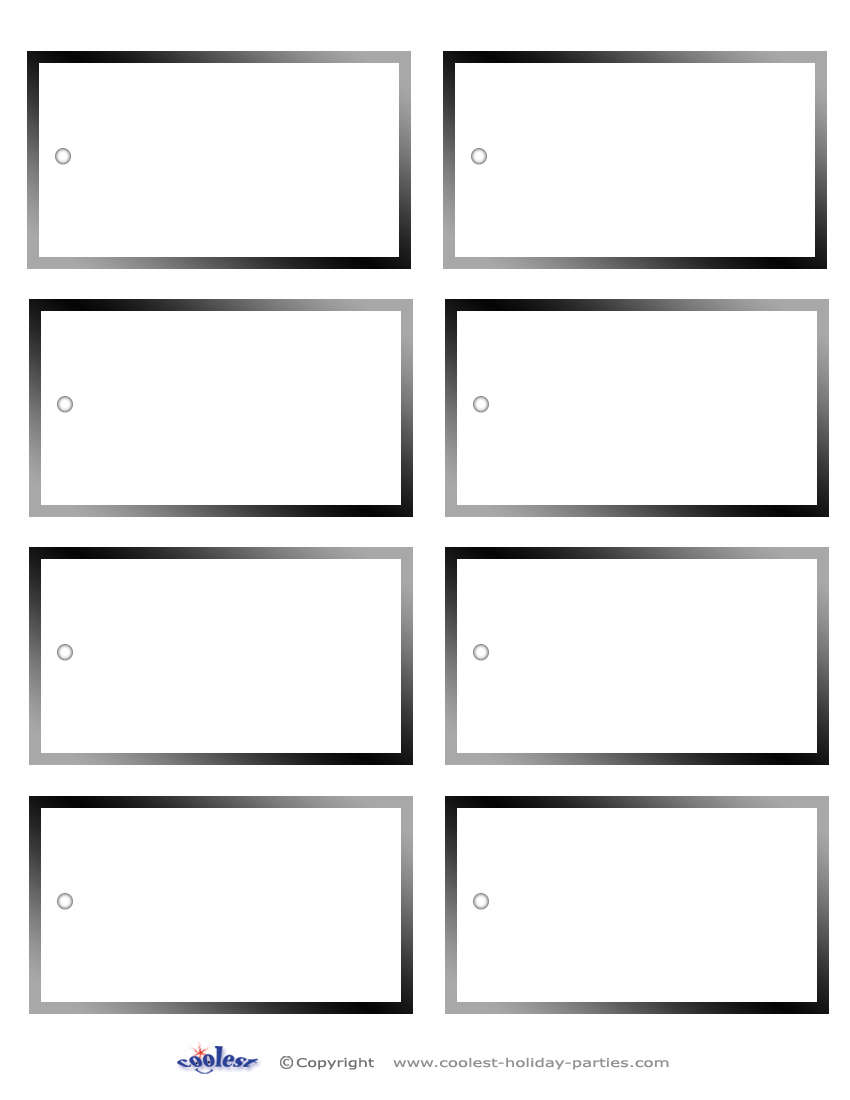 picture about Free Printable Blank Gift Tags titled Blank Printable Reward Tags