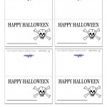 Printable Skull Placecards