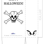 Large Printable Skull Favorbag