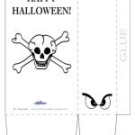 Large Printable Skull Favorbag