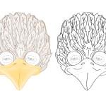 Printable Bird Mask