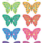 Printable Butterfly Masks