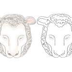 Printable Sheep Mask