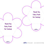 Printable Fairy Thank You Cards