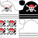 Cool Printable Pirate Hats
