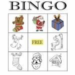 Christmas Bingo 3x3