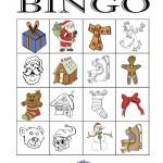 Christmas Bingo 4x4