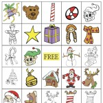 Christmas Bingo 5×5