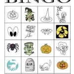 Halloween Bingo 4×4