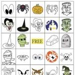 Halloween Bingo 5×5