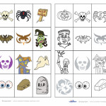 Printable Memory Game for Halloween